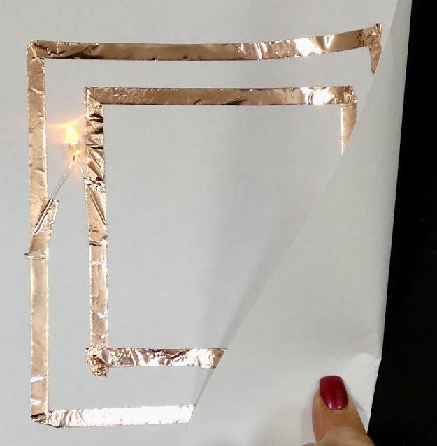 Copper Tape Paper Circuit Templates