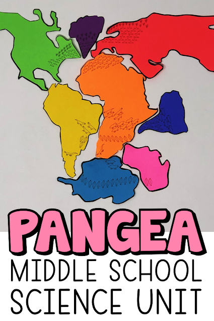 Pangea unit for Middle School Science