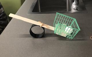 making a pingpong ball launcher stem challenge