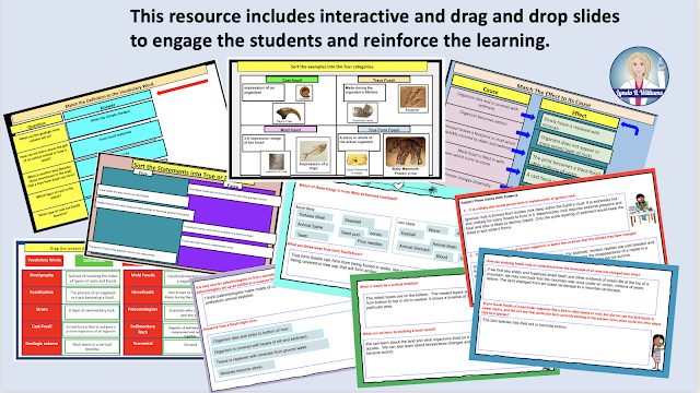 Interactive Drag and Drop slides for google Classroom