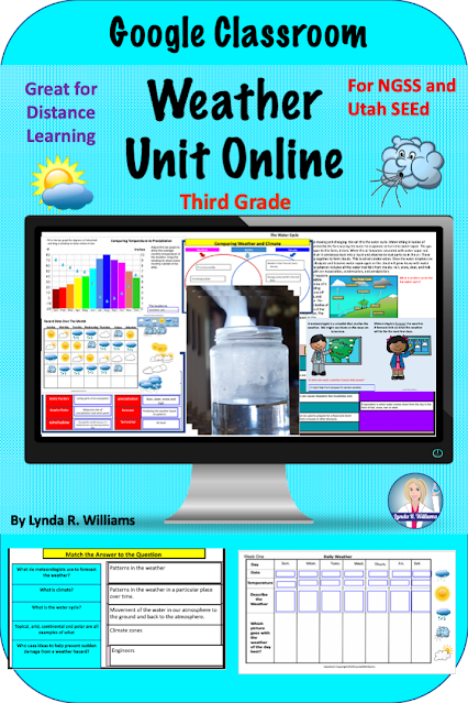 Weather Unit for third Grade