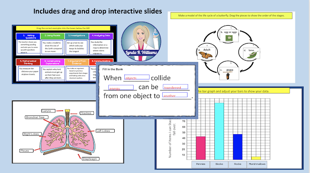 Drag and Drop Activities for NGSS Science Elementary