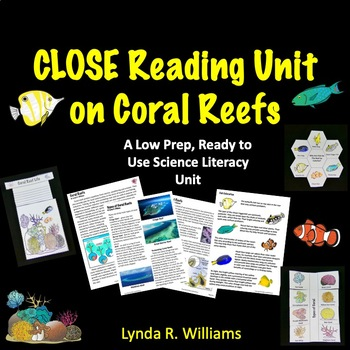 coral reef reading passages