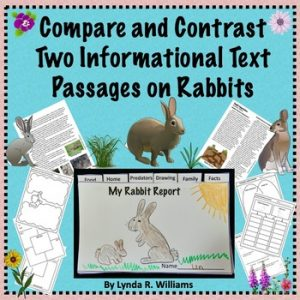 Compare and contrast tow text passages