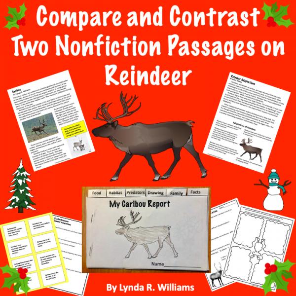 reindeer reading passages