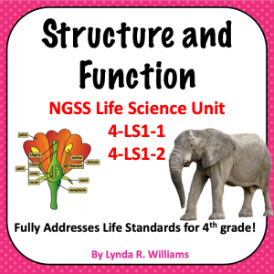 Structure and Function fpurth grade