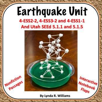 Earthquake Unit - Teaching Science with Lynda R. Williams
