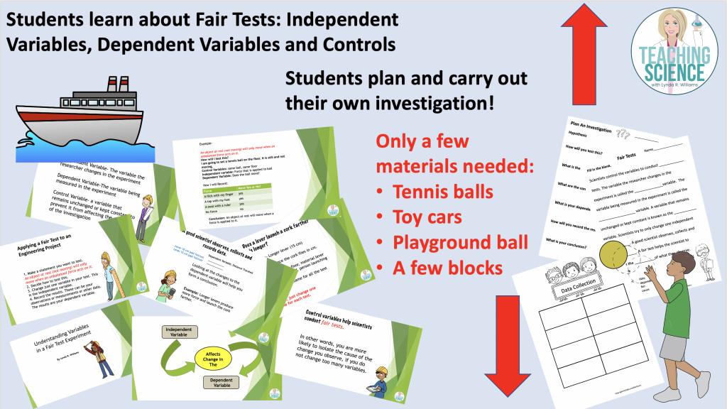 Teaching Fair Tests for third grade
