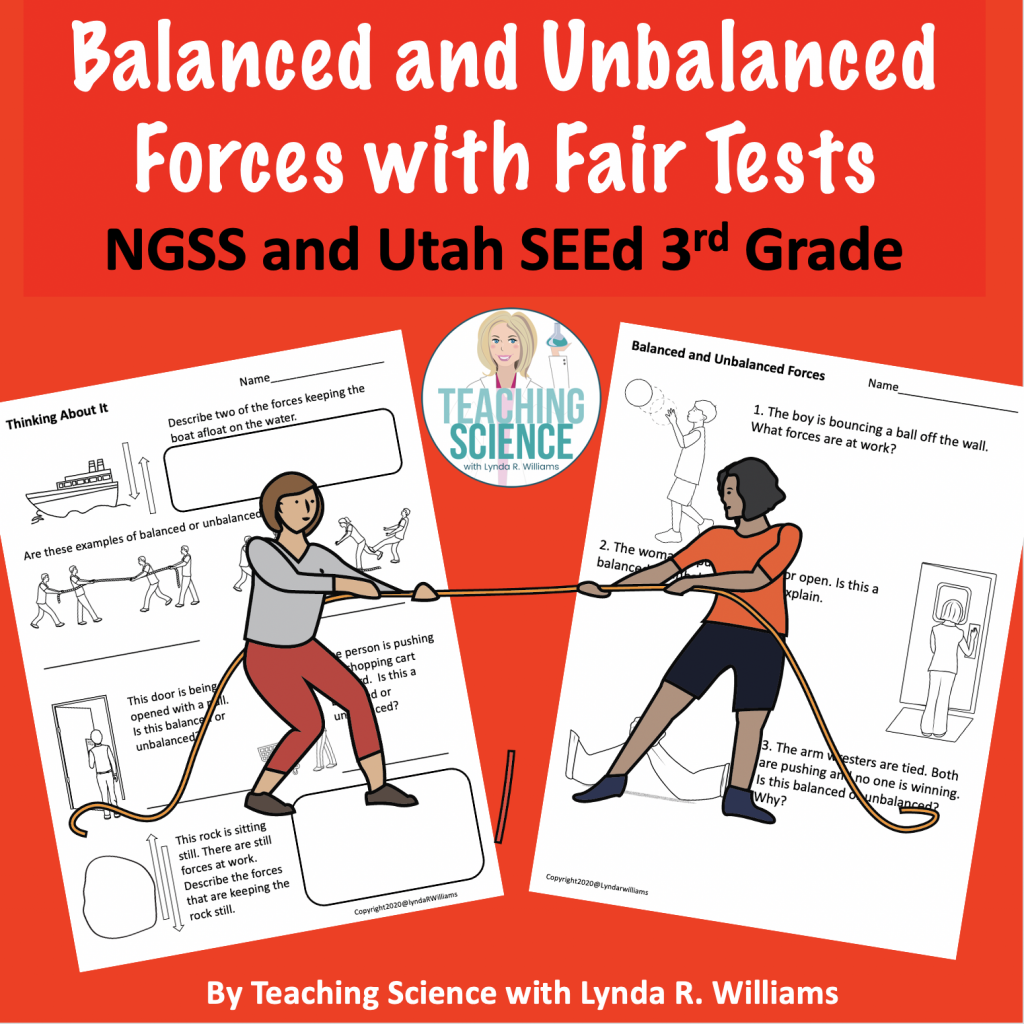 Balanced and Unbalanced Forces and science investigations