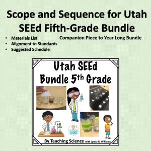 Utah SEEd Fifth Grade