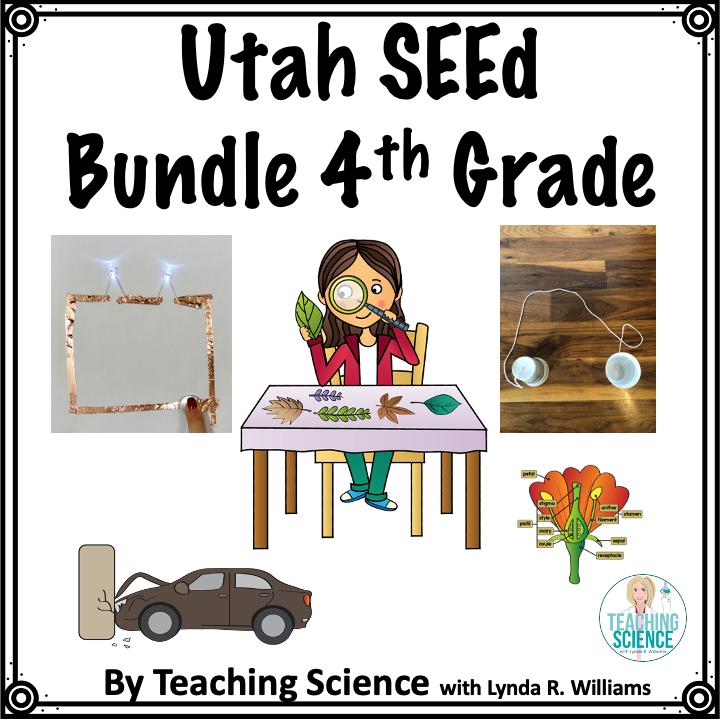 Utah SEEd Bundle Fourth Grade