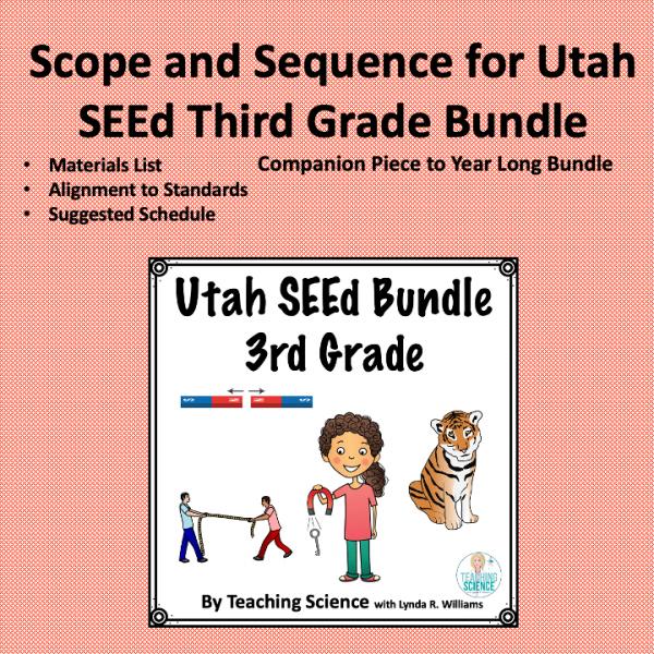 Third grade Utah SEEd