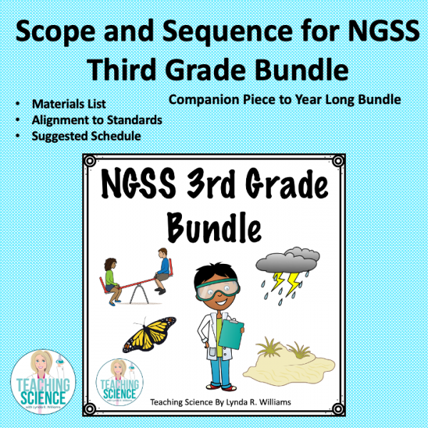 Scpe and Sequence Third Grade NGSS