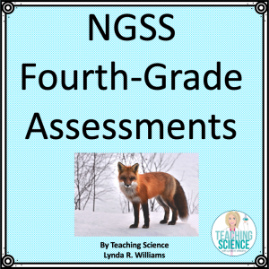NGSS fourth grade assessment