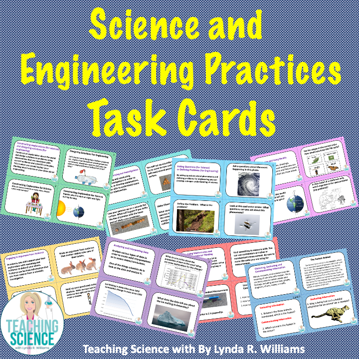 Science and Engineering Practices Task Cards