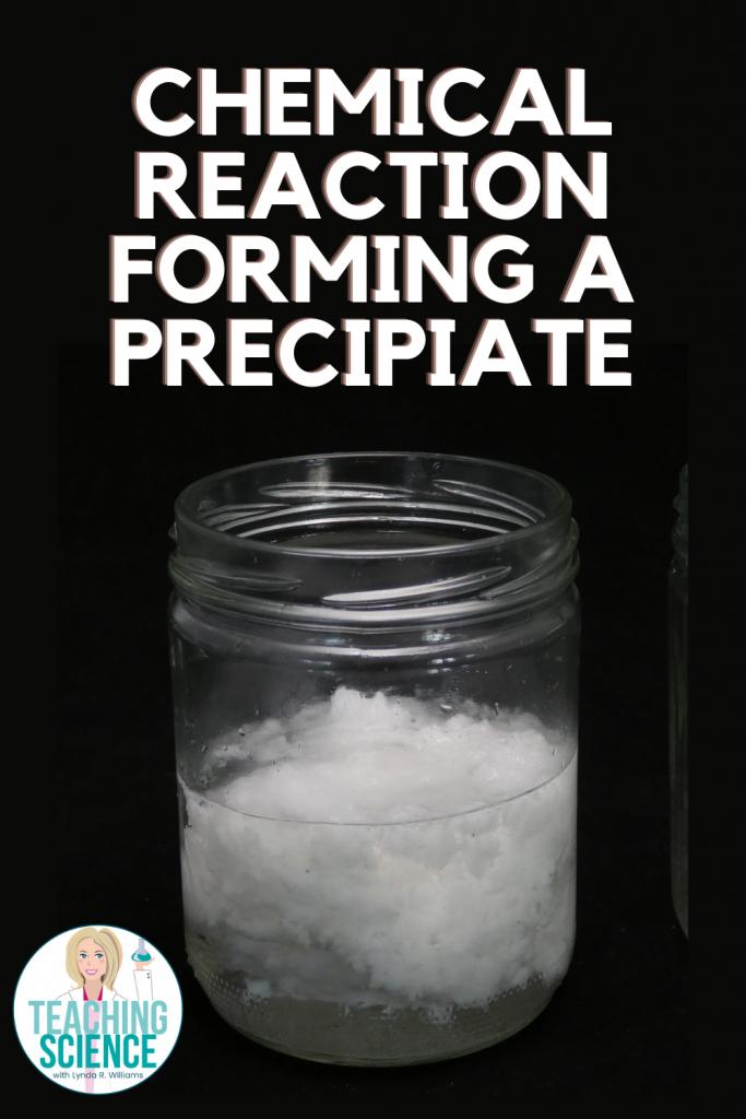 Forming a precipitate
