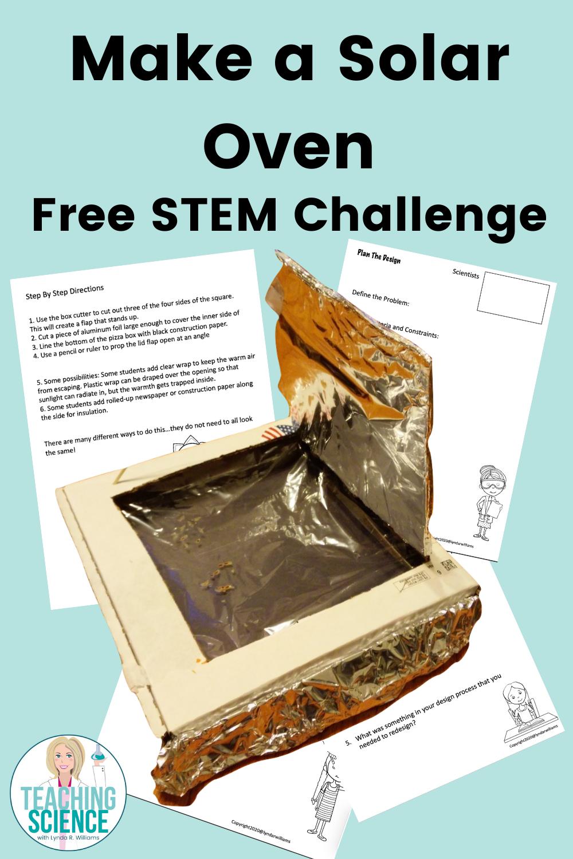 Make a solar oven