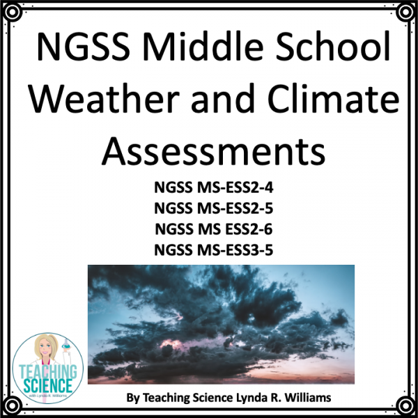 Assessment Middle School Weather