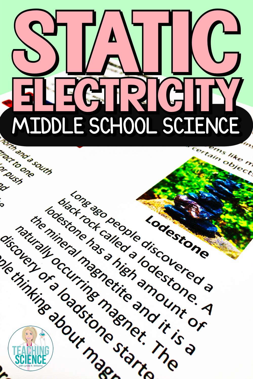 Static Electricity for Middle School