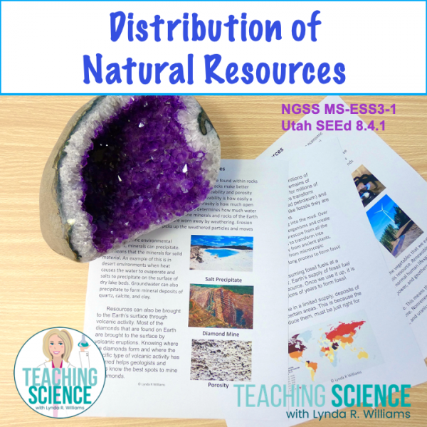 Distribution of natural resources