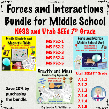 Force and Interactions bundle