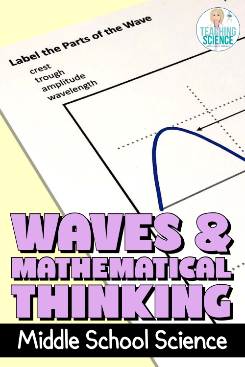 Waves and Mathematical Thinking – Middle School Science Unit NGSS MS PS4-1